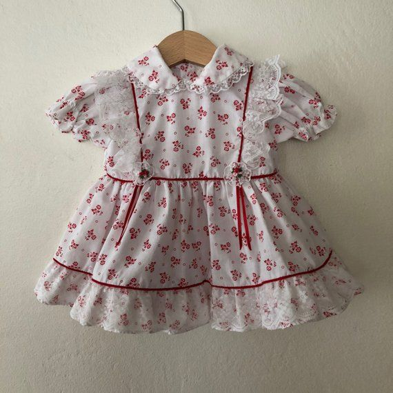 da46a6a1987a Vintage Baby Girls Dress