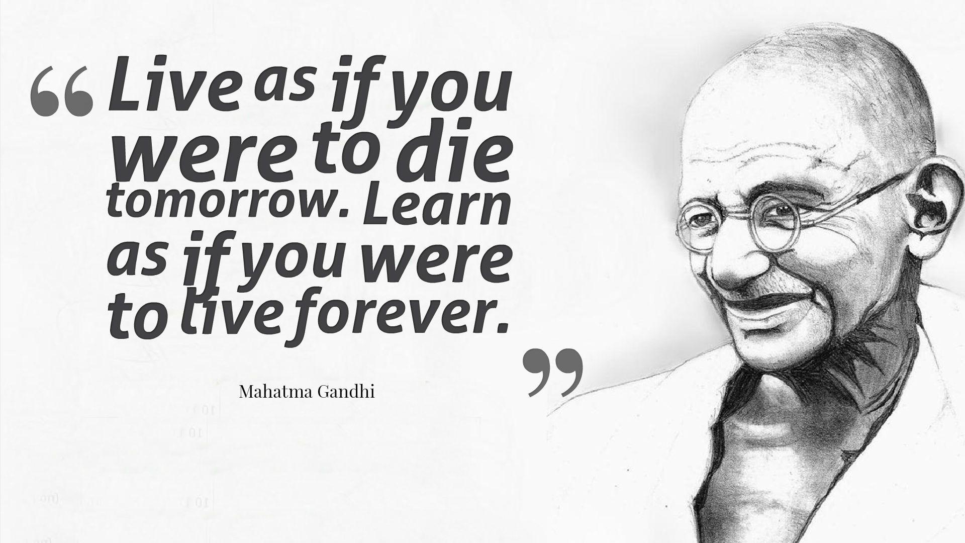 gandhi quotes wallpaper - photo #18