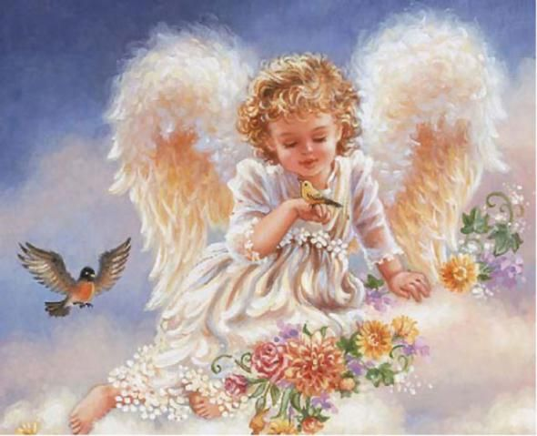 Cute Little Angels Wallpapers Angel wallpaper, Angel