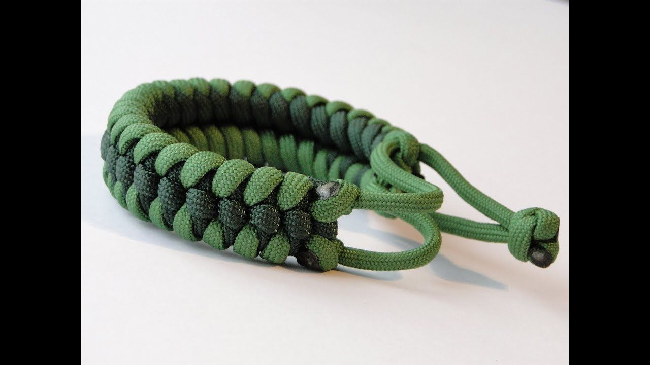 How To Make The Raid Knot Mad Max Style Paracord Survival Bracelet