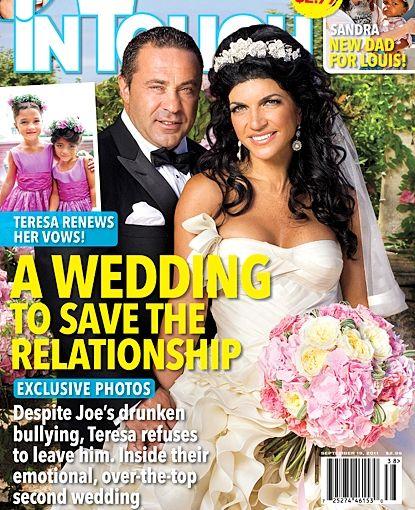 Photos Teresa Giudice Has A Second Wedding To Save Marriage