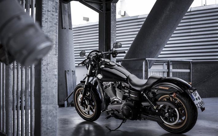 Harley Davidson Low Rider S 2017 Bridge Black Motorcycle