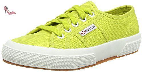 Superga 2754 Cotu, Sneakers Hautes Mixte Adulte-Vert 35.5 EU