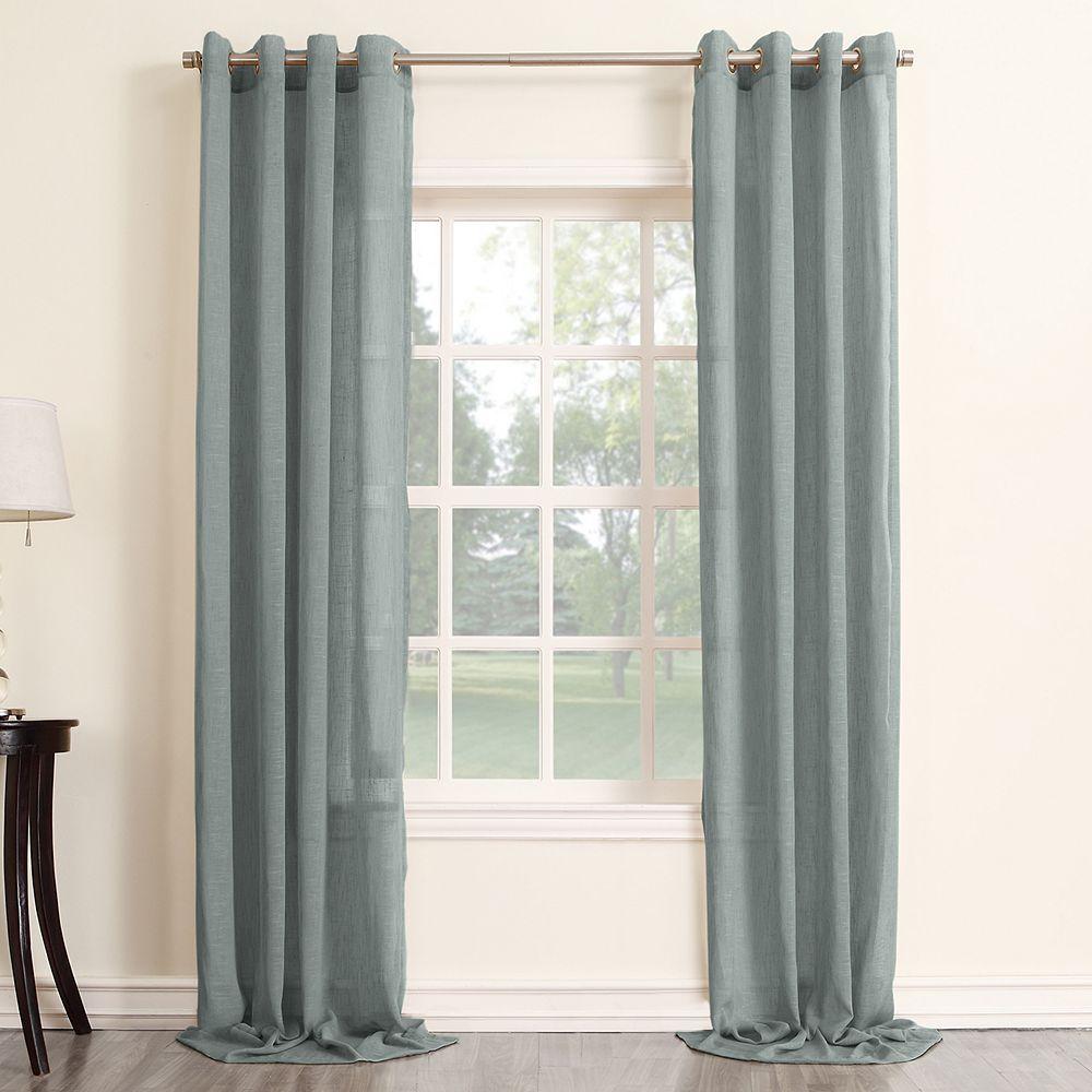 Sonoma Goods For Life 1 Panel Ayden Linen Blend Sheer Window