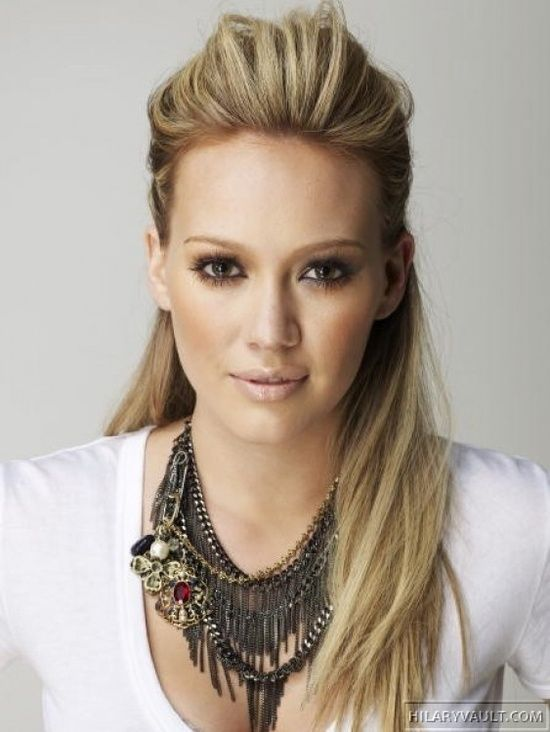 Bewitch Hairstyles Night Out Hair Styles Hillary Duff Hair Long Hair Styles