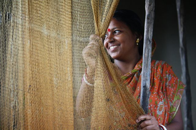 Bengali Woman in a Fishing Community | Ending Violence Against Women