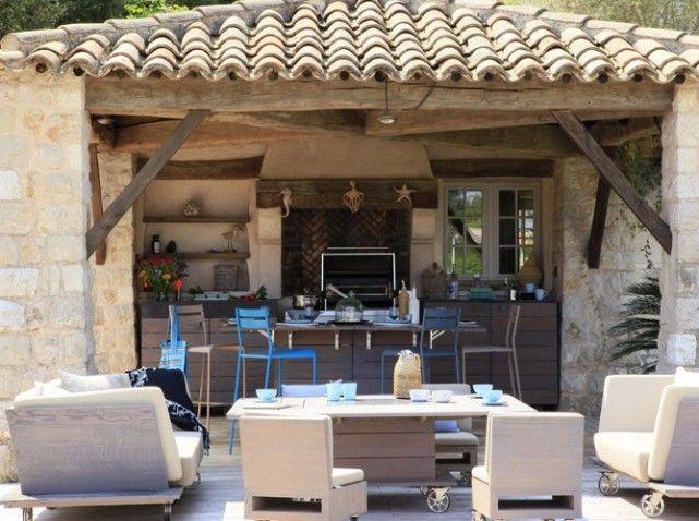 Univers decoration cuisine d 39 ete decoration cuisine cuisiner et d cora - Construction cuisine d ete exterieure ...