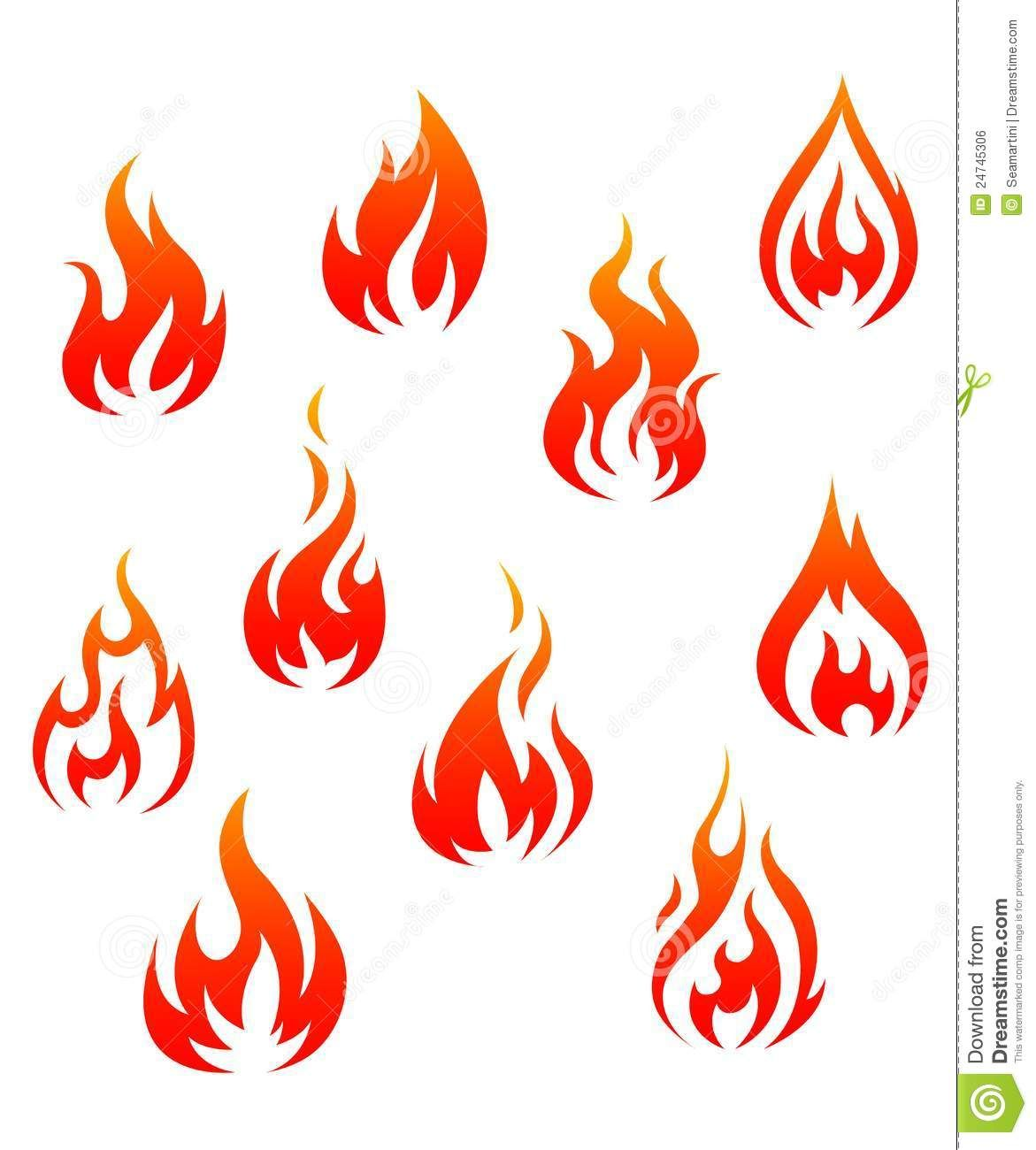 Symbols for fire gallery symbol and sign ideas chinese fire symbol yahoo image search results sergei cover illustration of set of fire flames isolated buycottarizona