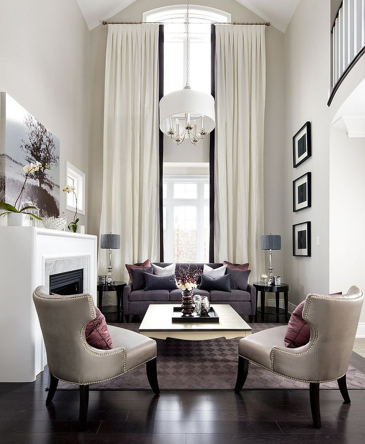 Fabulous Contemporary Living Room With Transitional Style Sizing Interesting Modern Design Curtains For Living Room Review