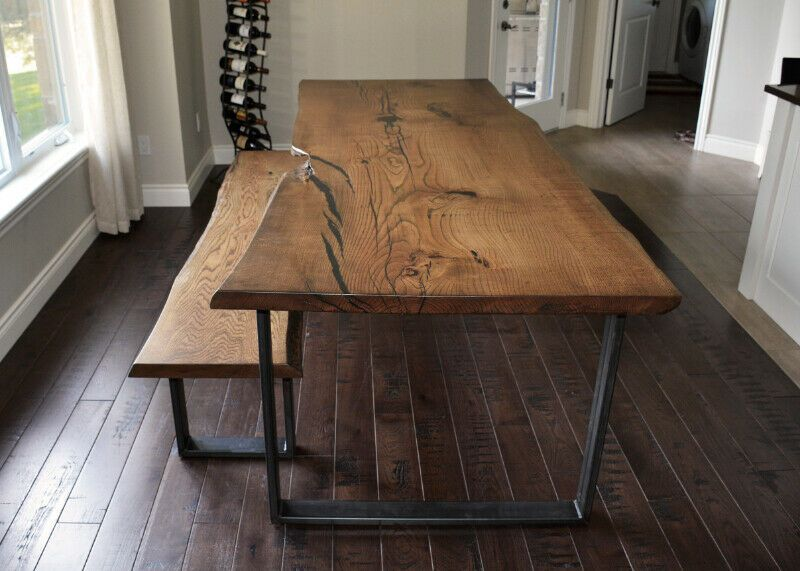 Custom Live Edge Dining Tables Dining Tables Sets Kitchener