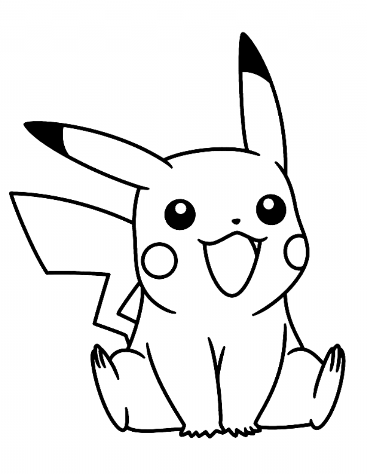 Little Pikachu Pokemon Coloring Pages Bulk Color Coloring Pikachu Coloring Page Pokemon Coloring Pokemon Coloring Pages