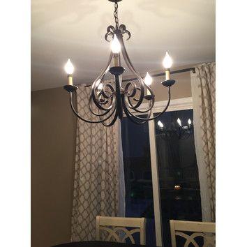 kichler dover 5 light chandelier ii reviews wayfair chandelier