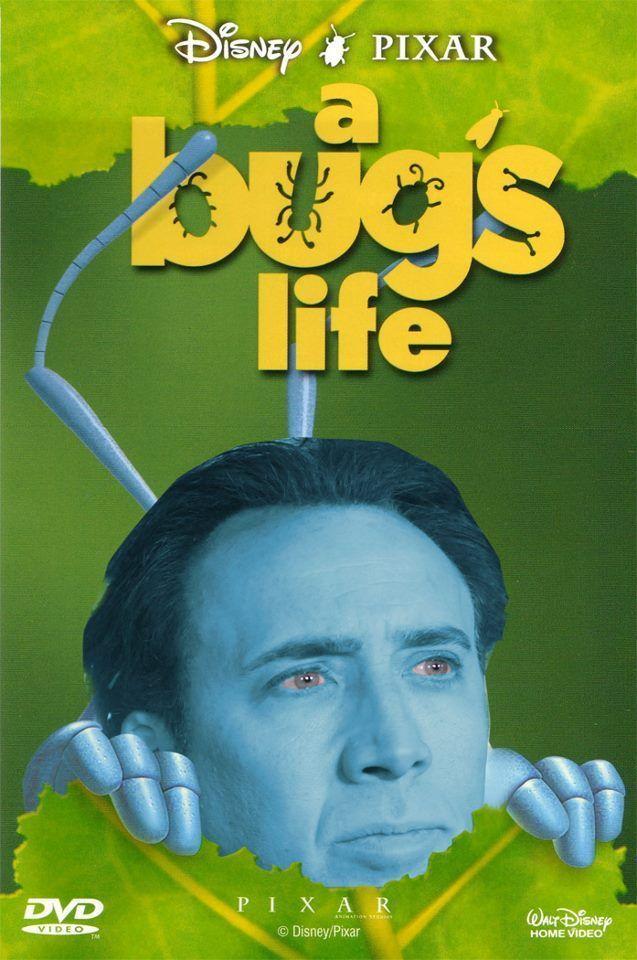A Bug s Life Nicholas Cage Face 14e9ab86918e5