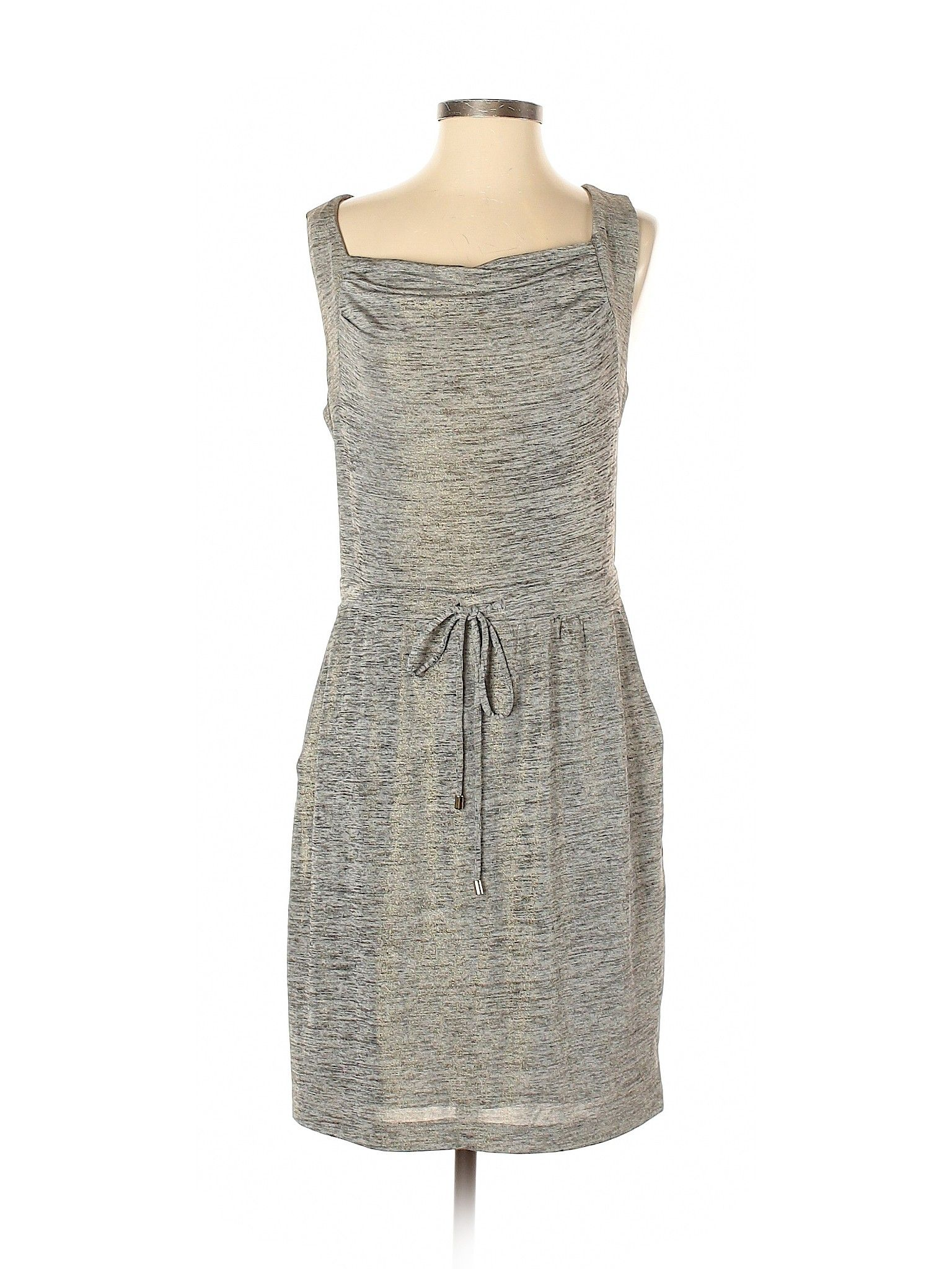 Jennifer Lopez Casual Dress Slip Dress Gray Solid Dresses Used Size Small Casual Dresses Clothes Casual Dress [ 2048 x 1536 Pixel ]