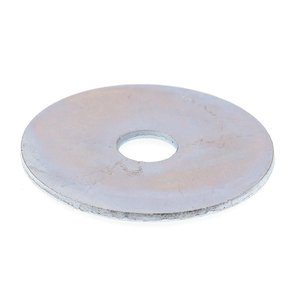 Prime Line 5 16 In X 1 1 2 In O D Zinc Plated Steel Fender Washers 100 Pack In 2020 Steel Material Plating Washer
