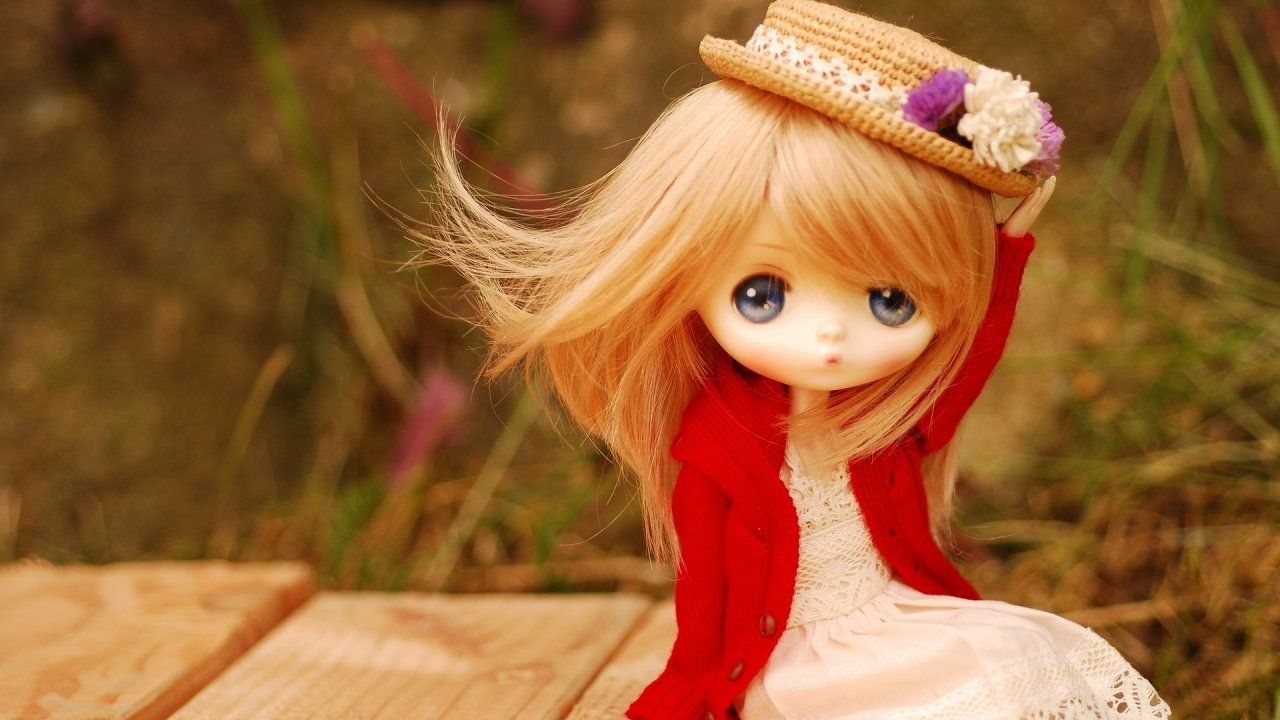 Beautiful Bride Doll Hd Wallpapers Whatsapp Dp Images Cute Wallpapers Cute Baby Dolls