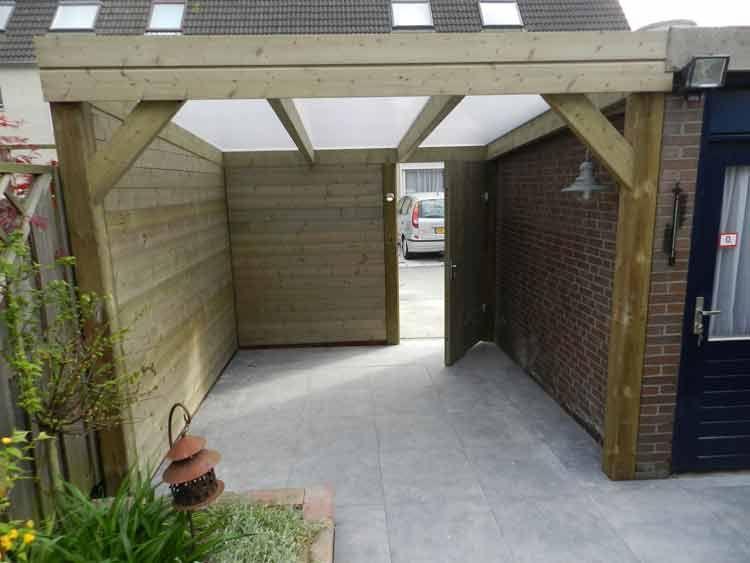 Overkapping Tuin Hout : Wilt u een houten terrasoverkapping? of een tuinhuis of schuur met