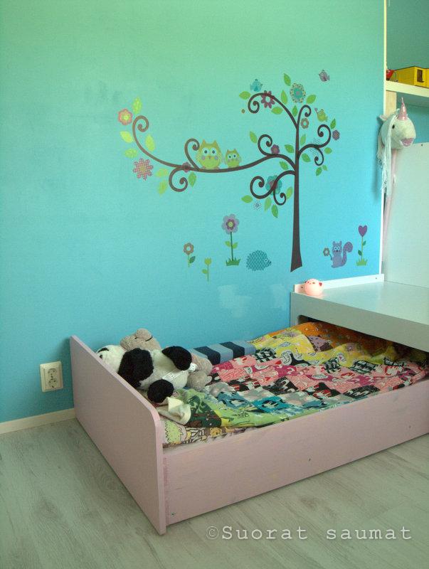 Blogielämäkin käynnistyy jälleen pitkän kesäloman jälkeen. Näin alkajaisiksi voisin esitellä uudistuneen lastenhuoneemme. Muutoksen tarkoi...