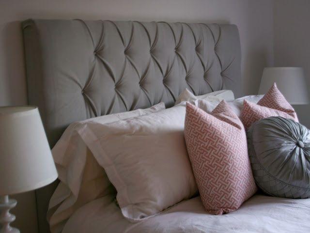 1000+ ideas about Grey Tufted Headboard on Pinterest | Archipelago ...