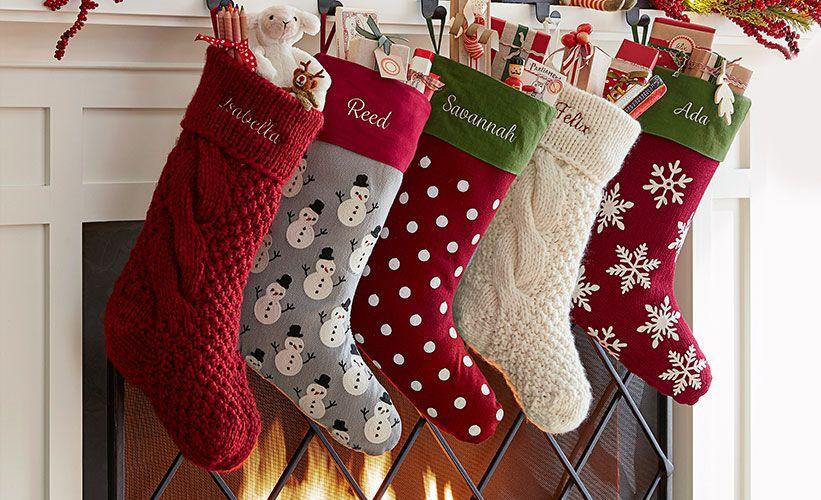 Christmas Stocking Ideas Decorated Stockings Easy