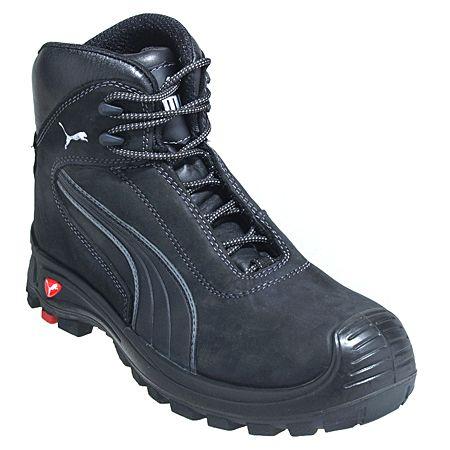 Puma Shoes Men S 63 051 5 Composite Toe Eh Black Slip