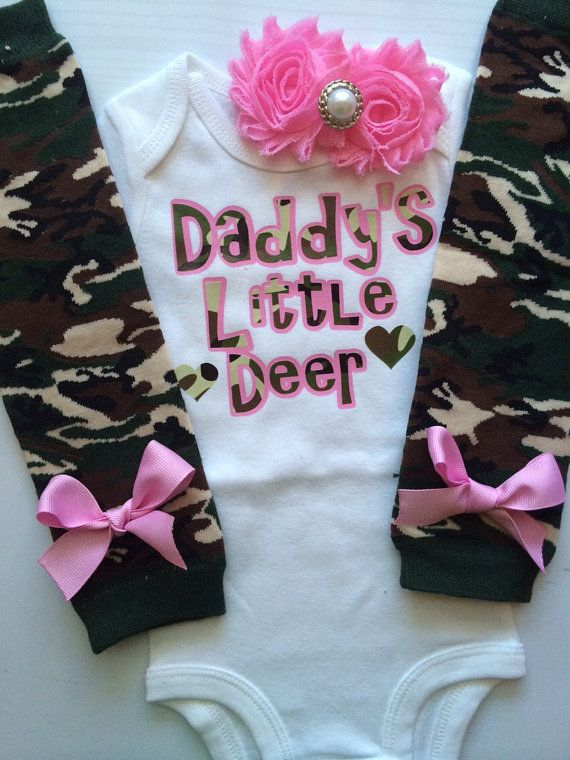 Baby Girl Clothes Daddys Little Girl Daddys Girl Outfit Daddys Little Deer
