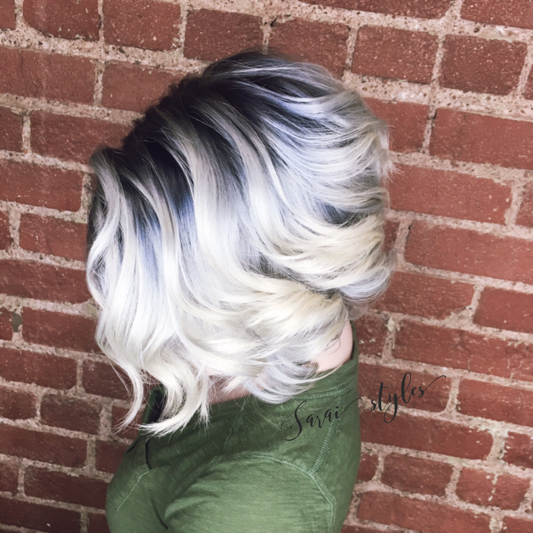 Follow This Board For More Fun Hair Ideas Blonde Hair With Roots Short Hair Styles Hair Styles