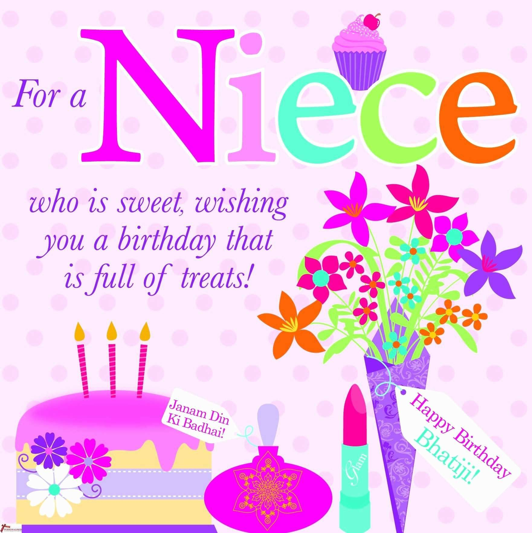 Happy Birthday Greeting Card Lovely Happy Birthday Quotes For A Special Niece Niece Birthday Wishes Birthday Cards For Niece Happy Birthday Niece