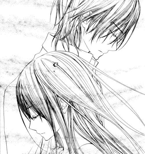 Image via We Heart It https://weheartit.com/entry/46244113/via/15727946 [animated] #anime #vampireknight #zeroandyuuki