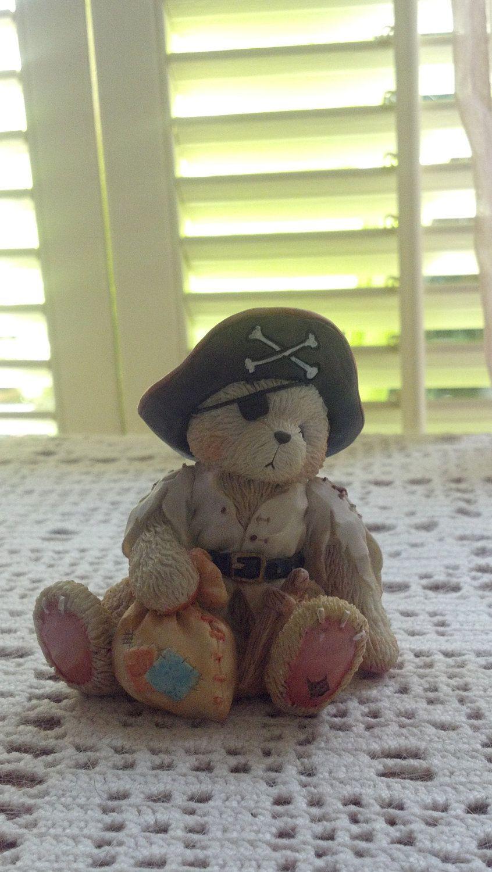 Halloween Cherished Teddies Pirate. $7.99, via Etsy.