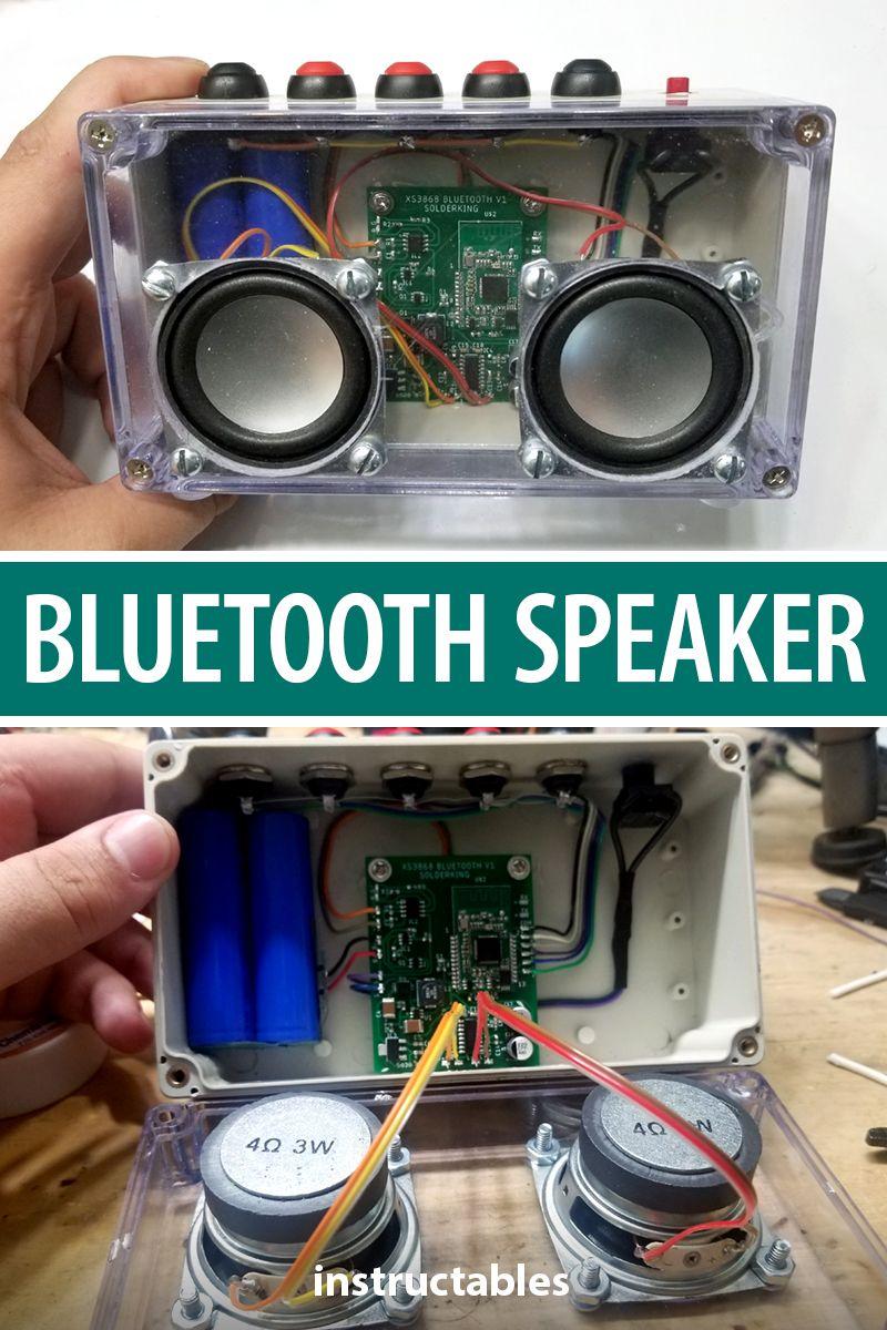 DIY Bluetooth Speaker From Scratch!