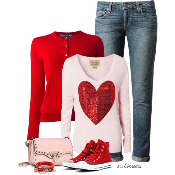 Valentine's Day, created by archimedes16 on Polyvore