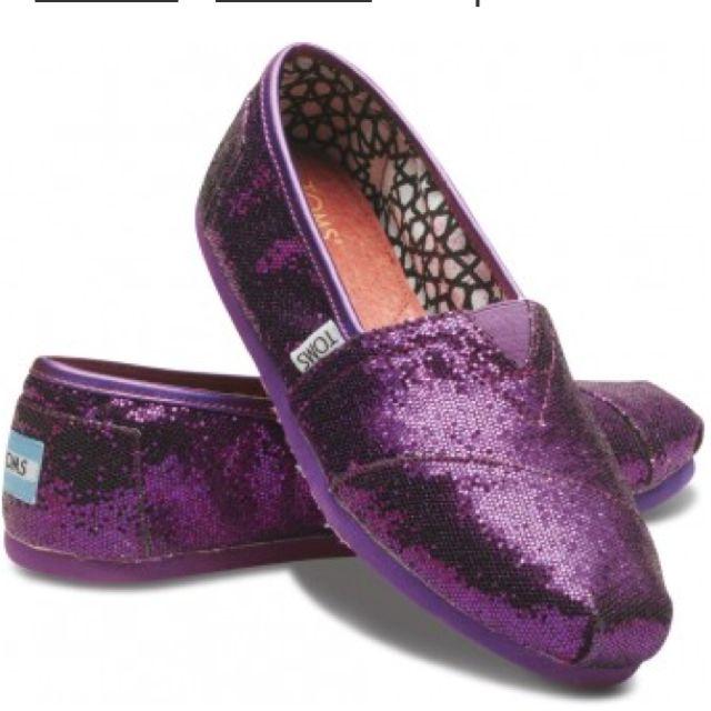 purple sparkly toms  b81a0e252