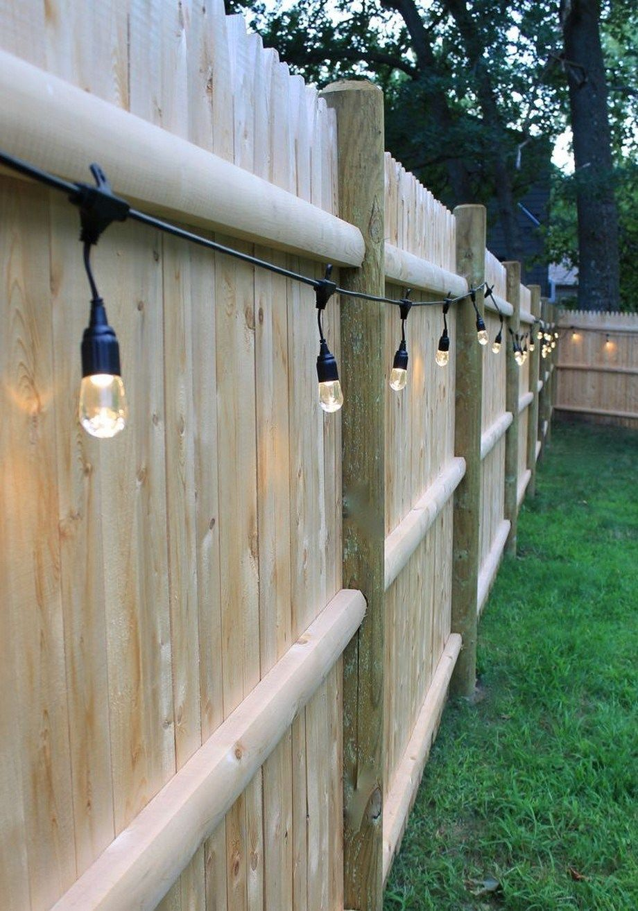 40 Backyard Landscaping Ideas With Bautiful Fence 4 Backyard