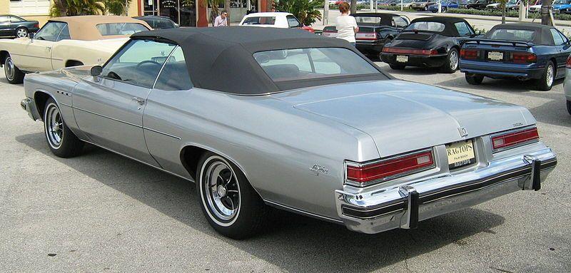 75 Buick LeSabre Convertible