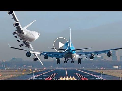 1) GTA 5✦Massive Air Plane A380✦Emergency Landing on