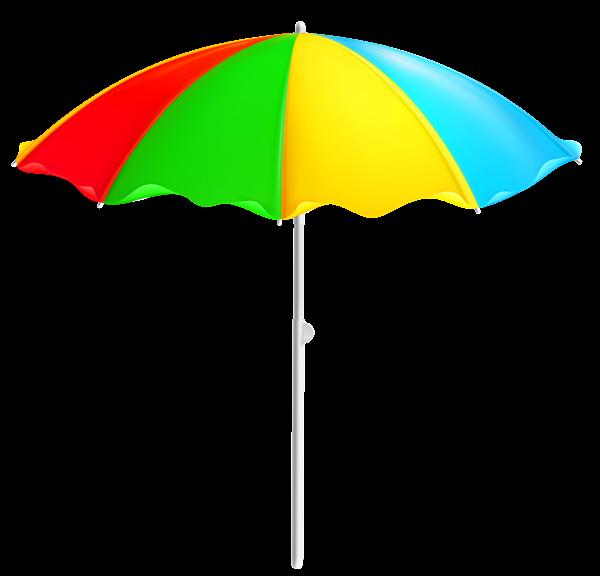 colorful beach umbrella png clipart transparentes sommer rh pinterest com beach umbrella clipart images beach chair umbrella clipart
