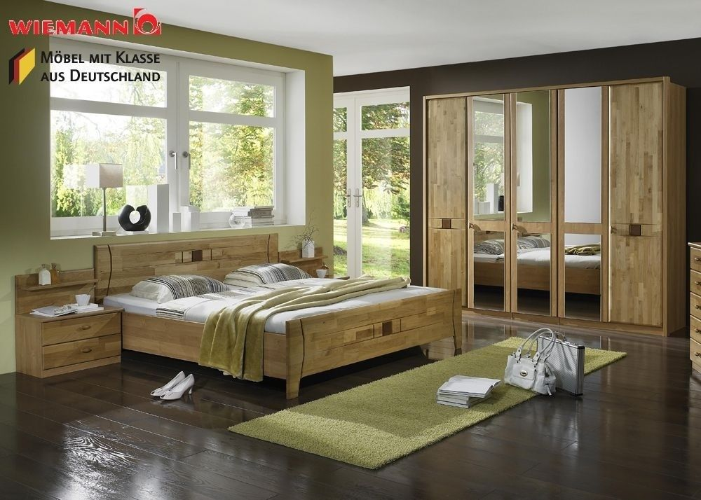 Schlafzimmer komplett Holz Erle Teil Massiv 3770 Buy now at