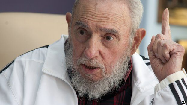 Fidel Castro reacts to US-Cuba thaw
