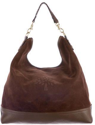 e1c978517d66 Mulberry Suede Effie Hobo Bag