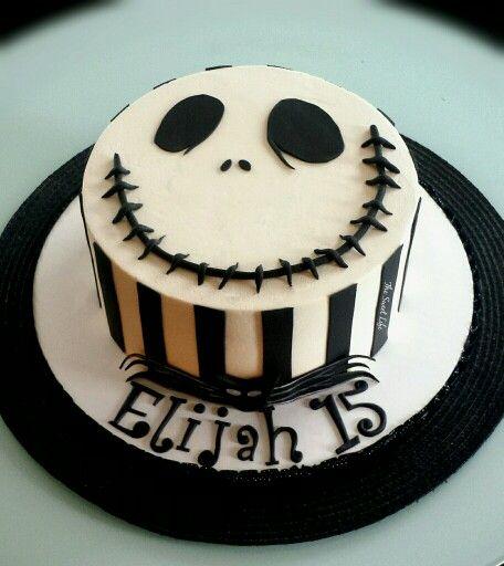 Jack And Sally Birthday Cake