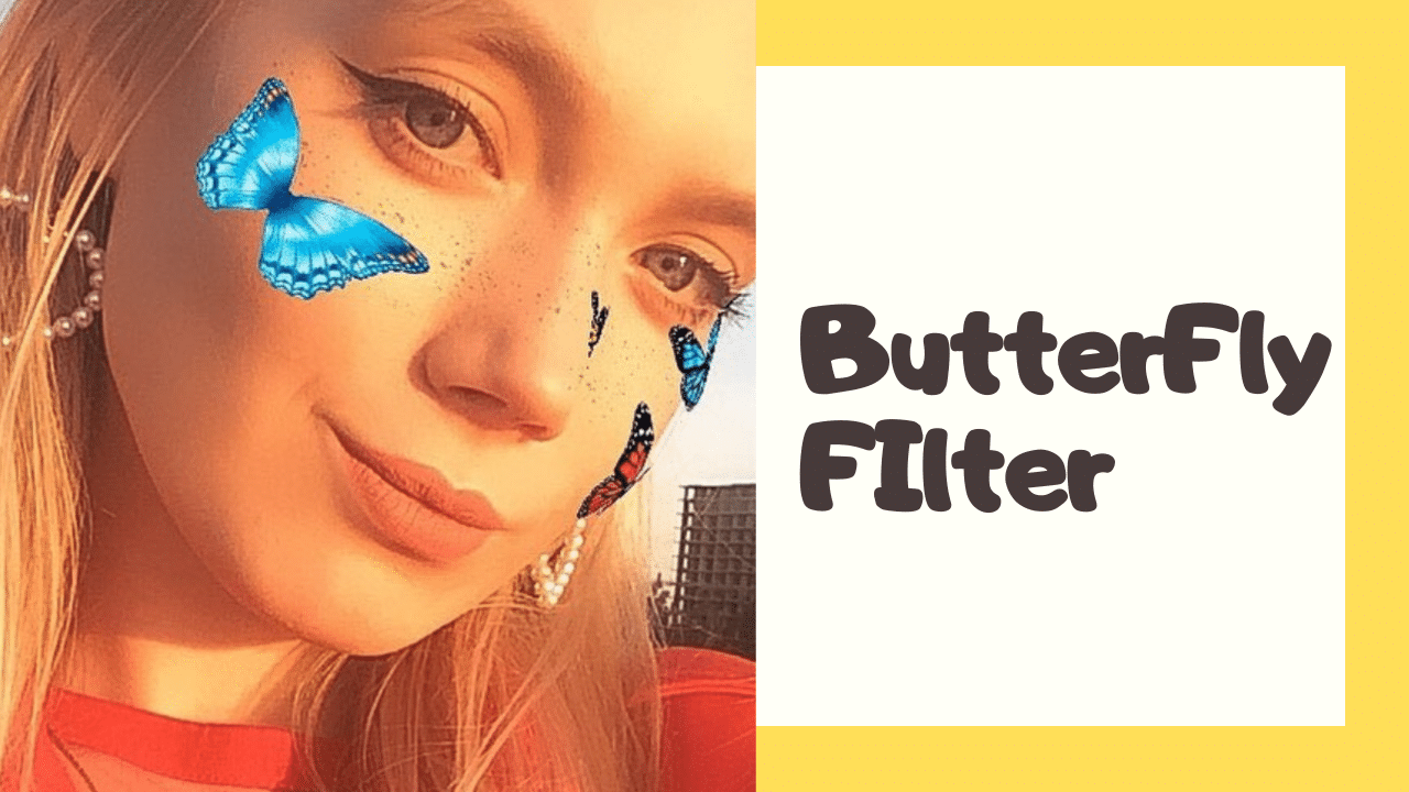 Instagram Butterfly Filter Lens How To Guide Filters Butterfly Butterfly Face