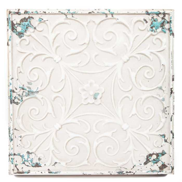 White Wall Art Metal