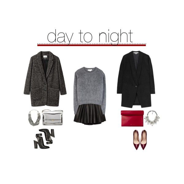 """day to night"" by frutini on Polyvore"
