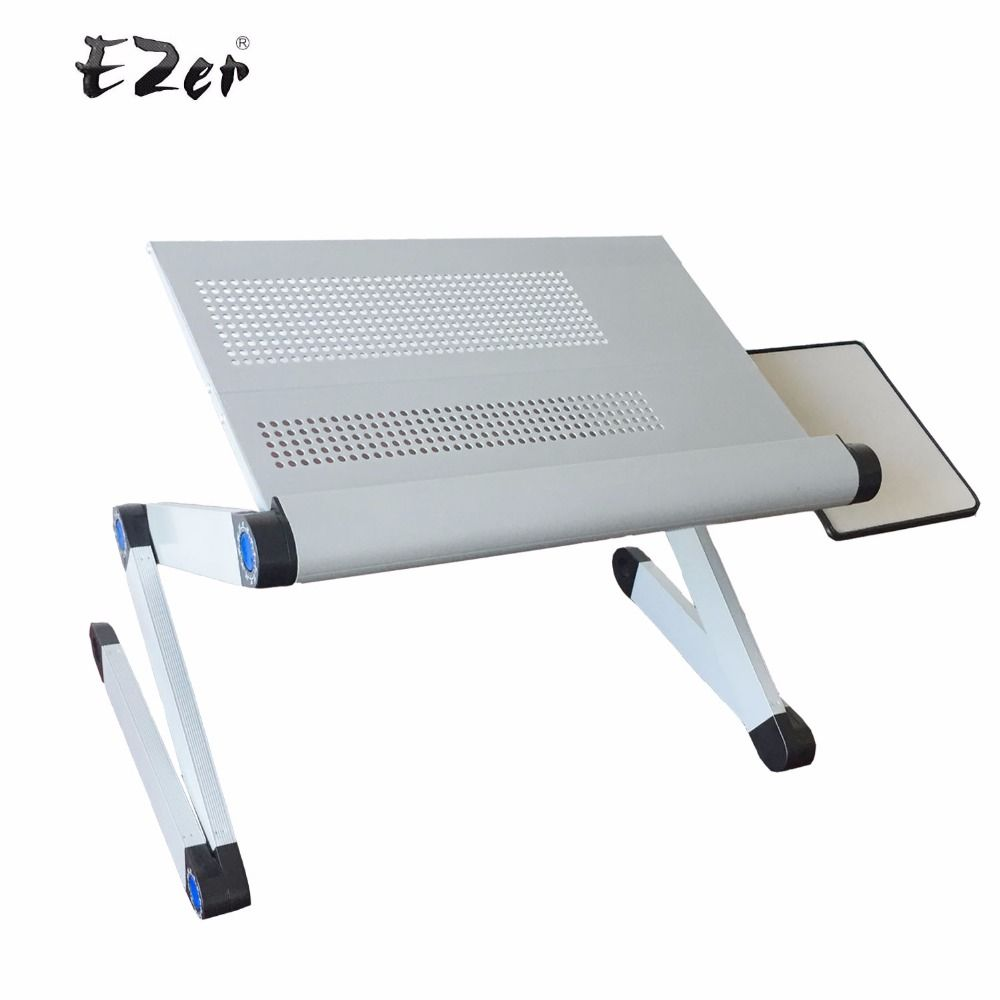 Adjustable portable laptop table stand lap sofa bed tray computer adjustable portable laptop table stand lap sofa bed tray computer notebook desk bed table with mouse geotapseo Gallery