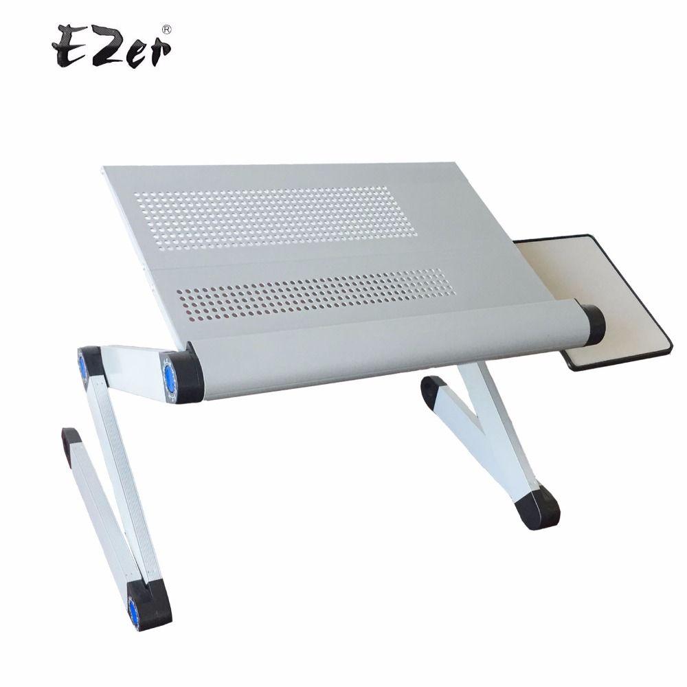 einstellbar tragbare laptop tischständer runde sofa bett tablett