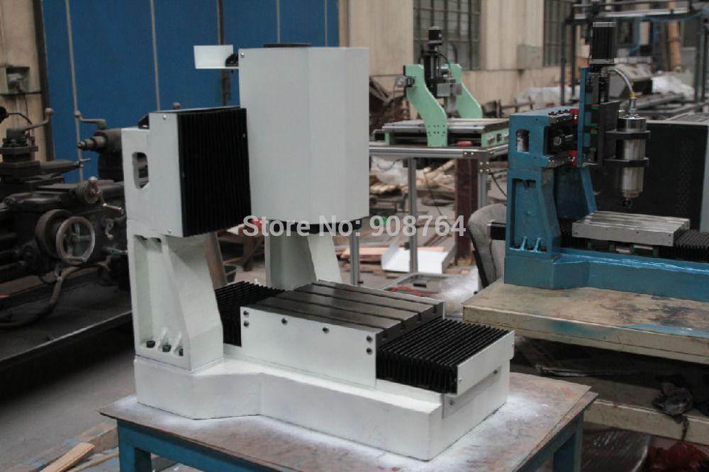 machine tool mini cnc milling machine cast iron frame for metal