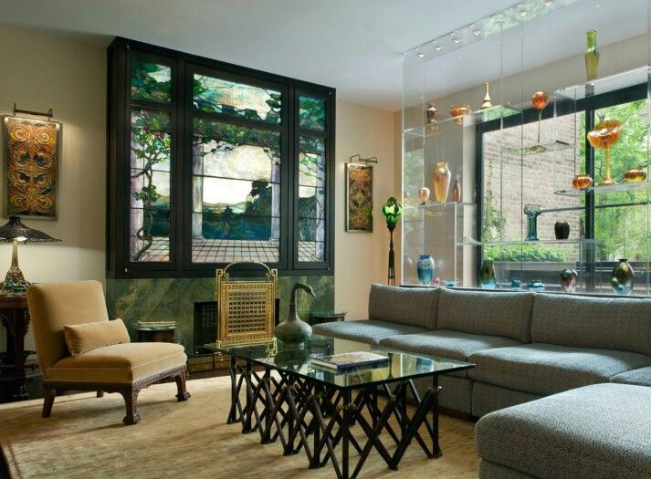Manhattan Collector's Townhouse by David Scott Parker Architects