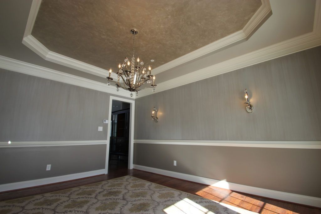 Ceiling Paint Treatments That Wow Afp Interiors Ceiling Border