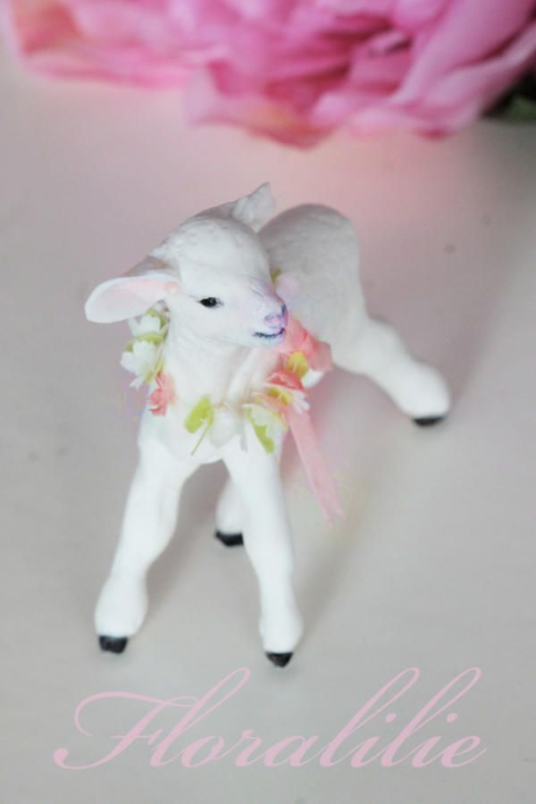 Little Easter Lamb by Floralilie